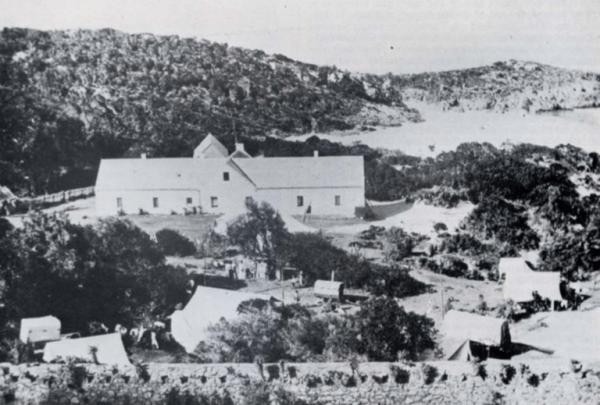 Old Rectory Plettenberg Bay circa 1900 Restorica 1981 A Kingston Gore Cuthbert