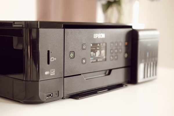 Epson Ecotank L7160 Printer Closeup