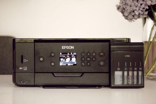 Epson Ecotank L7160 Printer Front View